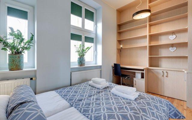 Апартаменты Lion Apartments - Parkowa 41-4 Сопот комната для гостей