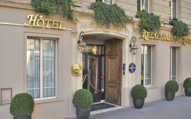 Hotel Relais Saint Jacques вид на фасад