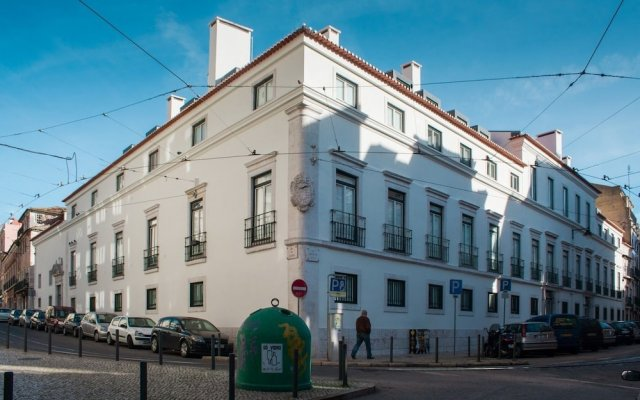 Отель Your Home in Palacio Santa Catarina Португалия, Лиссабон - отзывы, цены и фото номеров - забронировать отель Your Home in Palacio Santa Catarina онлайн вид на фасад