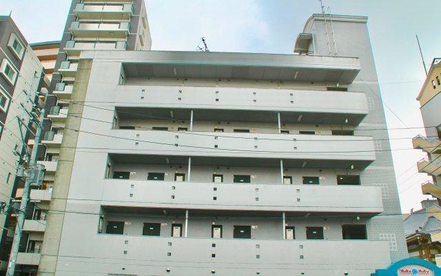 Отель Hukuhuku Guesthouse Хаката вид на фасад