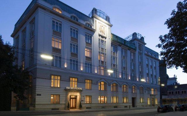 Отель Nh Belvedere Вена вид на фасад