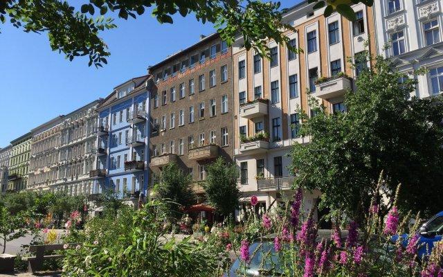 Апартаменты Brilliant Apartments Berlin вид на фасад