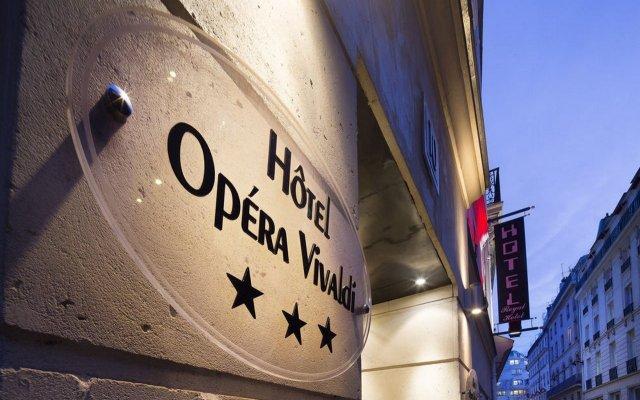 Отель Opera Vivaldi Париж вид на фасад