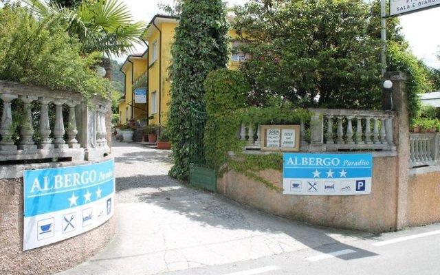 Отель Albergo Paradiso Италия, Макканьо - отзывы, цены и фото номеров - забронировать отель Albergo Paradiso онлайн вид на фасад