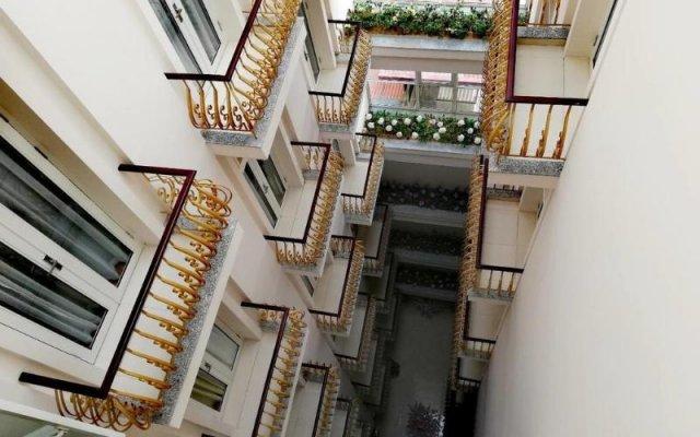 Lenid Hotel Tho Nhuom вид на фасад