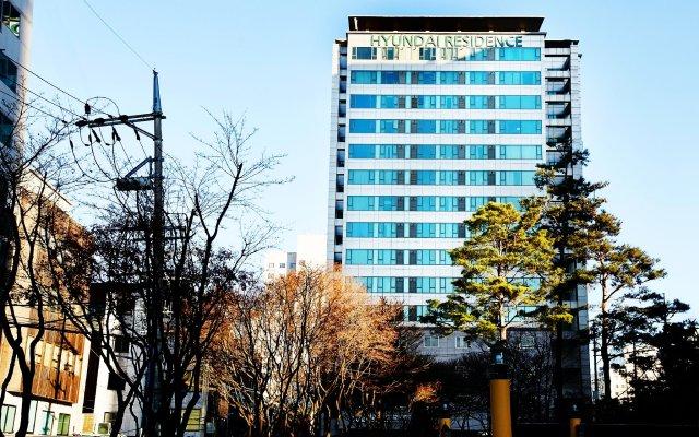 Отель Hyundai Residence Seoul вид на фасад