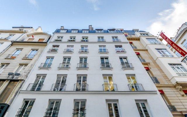 Апартаменты Sweet inn Apartments Les Halles-Etienne Marcel вид на фасад
