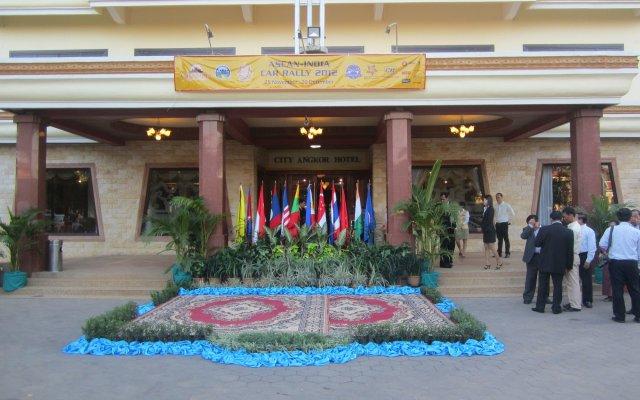 City Angkor Hotel вид на фасад