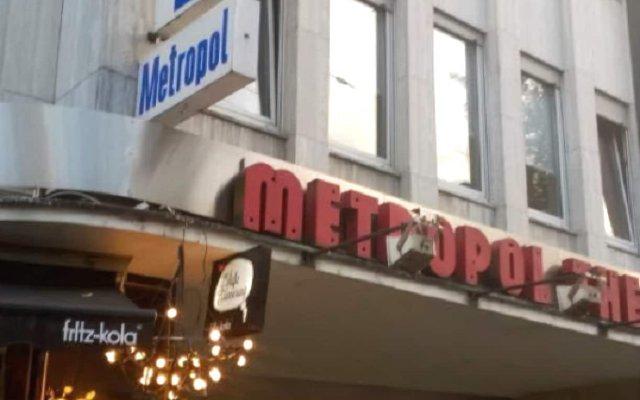 Hotel Metropol вид на фасад