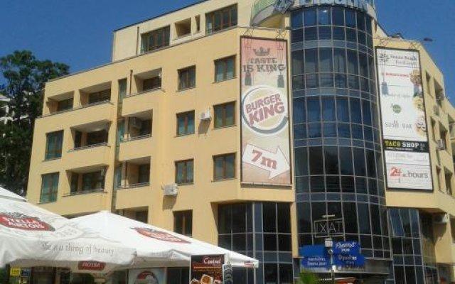 Отель Kaya Apartments Болгария, Солнечный берег - отзывы, цены и фото номеров - забронировать отель Kaya Apartments онлайн вид на фасад