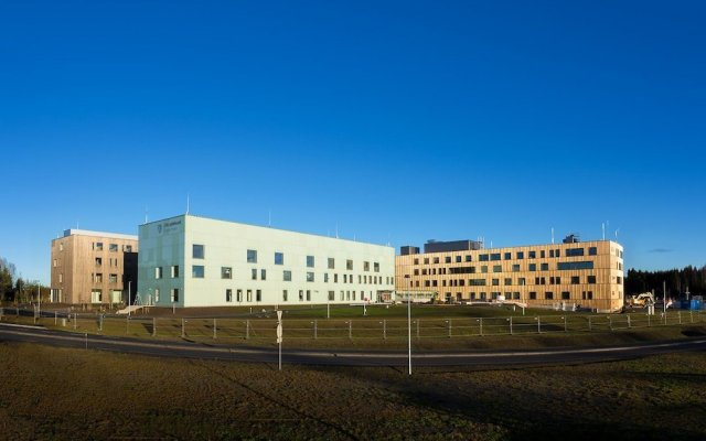 Отель LHL Sykehuset Hotell вид на фасад