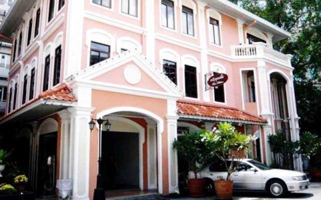 Отель Heritage Baan Silom Бангкок вид на фасад