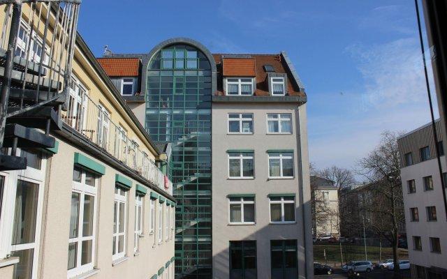 Отель Gästehaus Andante вид на фасад