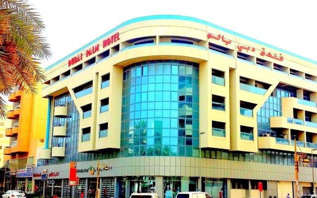 Отель Dubai Palm Дубай вид на фасад
