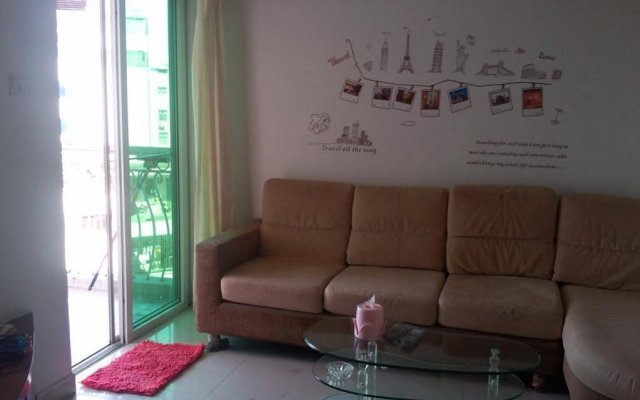 Апартаменты Shenzhen Leyi Family Apartment комната для гостей