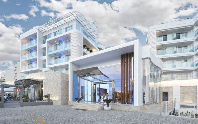 Blue Bay Platinum Hotel Мармарис вид на фасад