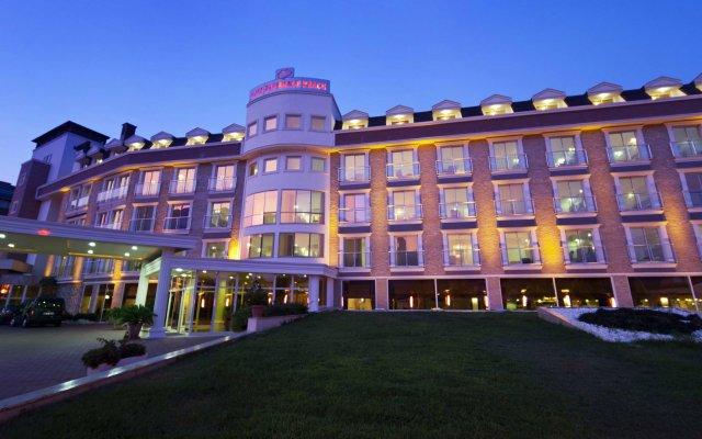 Отель Pgs Rose Residence Кемер вид на фасад