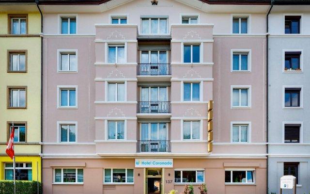 Отель Coronado Цюрих вид на фасад