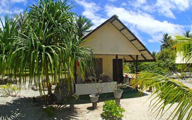 Отель Pension Justine Французская Полинезия, Тикехау - отзывы, цены и фото номеров - забронировать отель Pension Justine онлайн вид на фасад