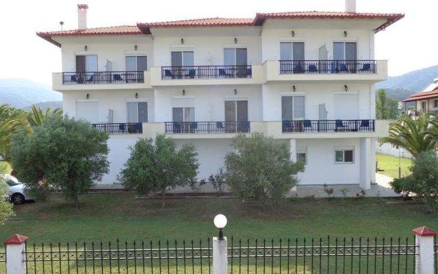 Отель Vergina Pension вид на фасад