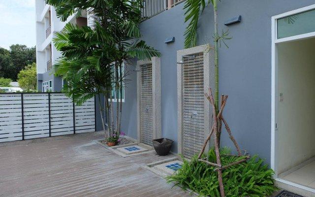 Отель Mandawee Resort & Spa вид на фасад