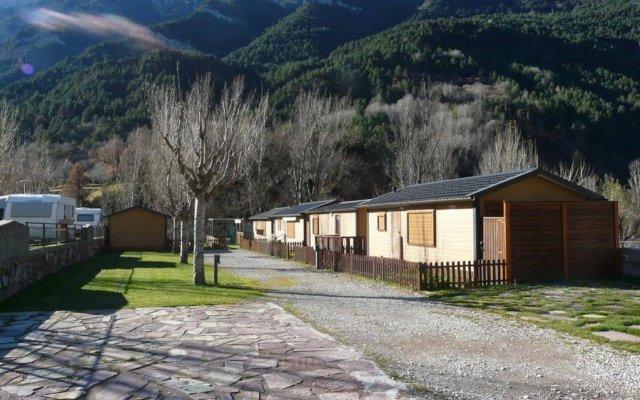 Hotel Camping Bielsa вид на фасад