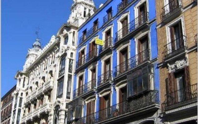 Отель Pensión Rodríguez Испания, Мадрид - отзывы, цены и фото номеров - забронировать отель Pensión Rodríguez онлайн вид на фасад
