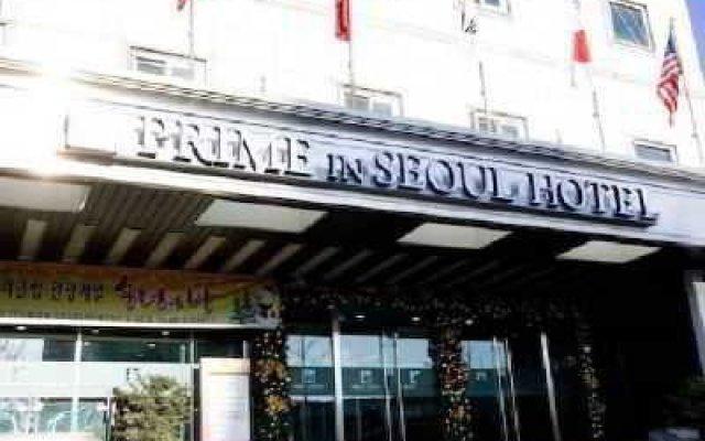 Отель Seoul Leisure Tourist Сеул вид на фасад