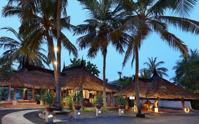 Отель The Villas at Novotel Lombok вид на фасад