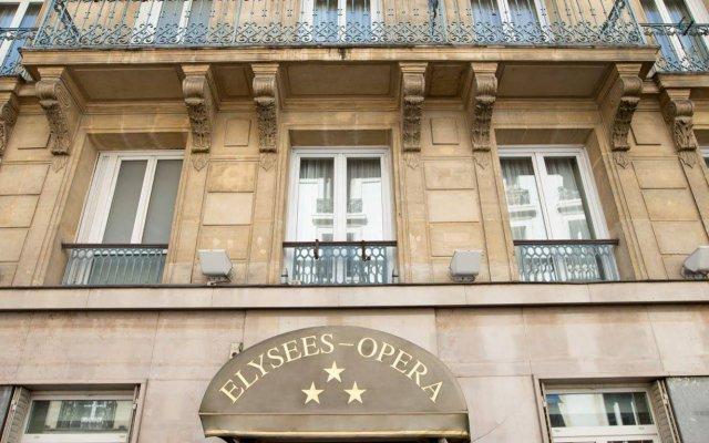 Отель Elysees Opera Франция, Париж - отзывы, цены и фото номеров - забронировать отель Elysees Opera онлайн вид на фасад