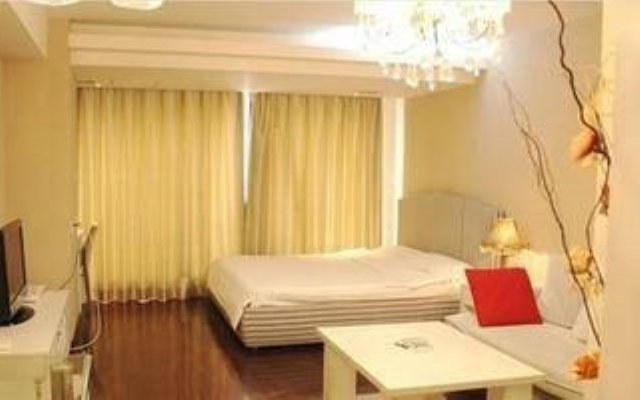 Lovely Home Boutique Apartment Hotel Beijing Пекин комната для гостей