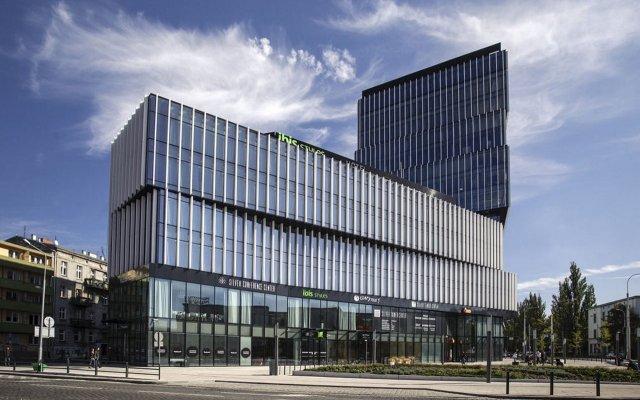 Отель Ibis Styles Wroclaw Centrum вид на фасад