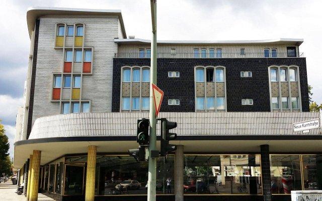 Отель Quentin Boutique Hotel Германия, Берлин - 1 отзыв об отеле, цены и фото номеров - забронировать отель Quentin Boutique Hotel онлайн вид на фасад