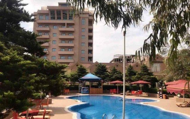 Серин отель Баку вид на фасад