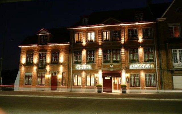 Hotel Albert I вид на фасад