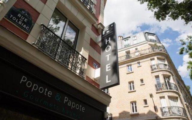 Отель Urban Bivouac Hôtel Tolbiac Olympiades Франция, Париж - отзывы, цены и фото номеров - забронировать отель Urban Bivouac Hôtel Tolbiac Olympiades онлайн вид на фасад