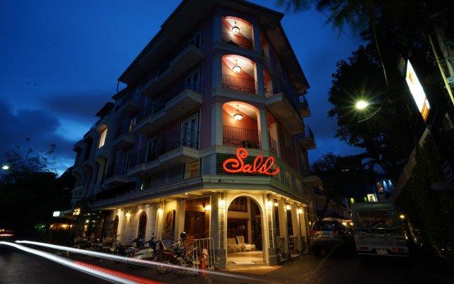 Отель Salil Hotel Sukhumvit - Soi Thonglor 1 Таиланд, Бангкок - отзывы, цены и фото номеров - забронировать отель Salil Hotel Sukhumvit - Soi Thonglor 1 онлайн вид на фасад