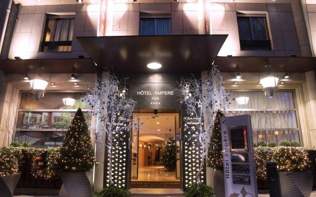 Hotel Ampere вид на фасад