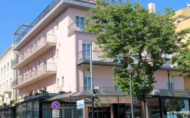 Hotel Maria Serena Римини вид на фасад