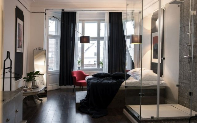 Отель Klasyczno Nowoczesny Loft Познань комната для гостей