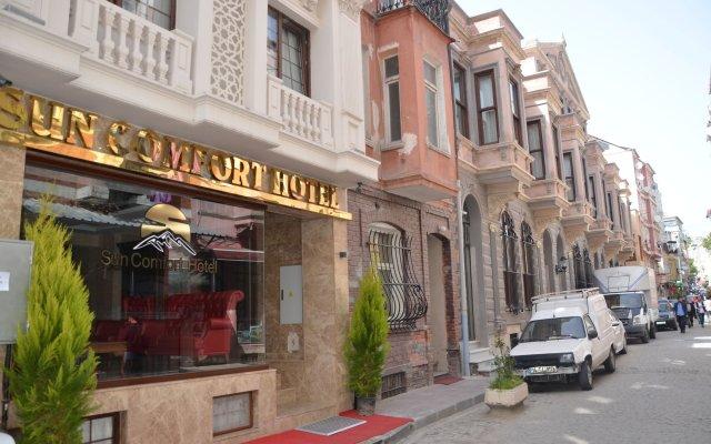 Sun Comfort Hotel вид на фасад
