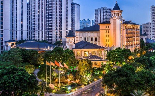 Отель Chateau Star River Guangzhou Peninsula вид на фасад