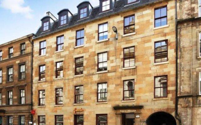 Отель SACO Glasgow - Cochrane Street Великобритания, Глазго - отзывы, цены и фото номеров - забронировать отель SACO Glasgow - Cochrane Street онлайн вид на фасад