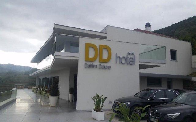 Отель Delfim Douro Ламего вид на фасад