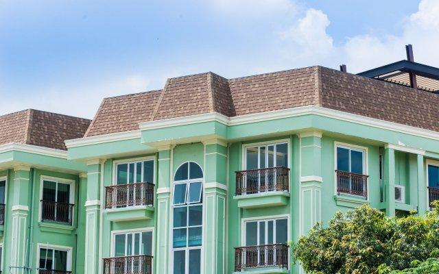 Отель Dang Derm in The Park Khaosan вид на фасад