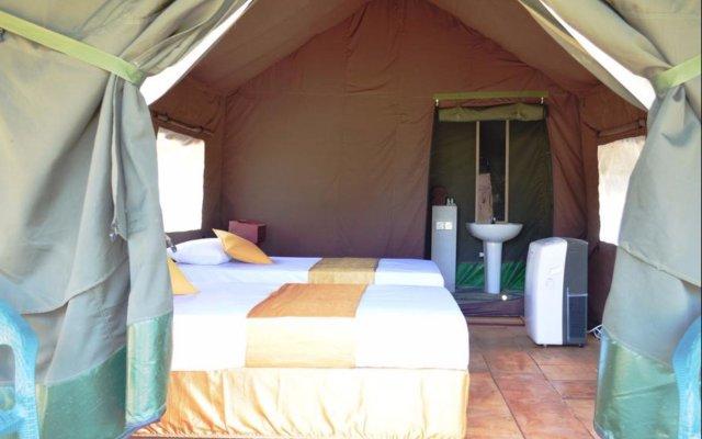 Отель Wild Panthera Yala комната для гостей