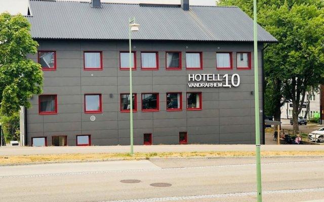 Hotel And Vandrarhem 10 Севедален вид на фасад