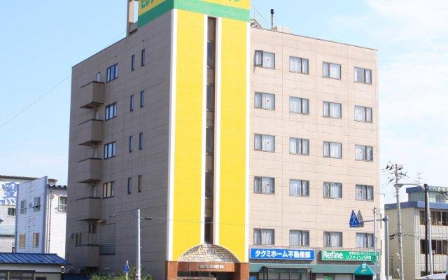 Hotel Select Inn Honhachinohe Ekimae Мисава вид на фасад