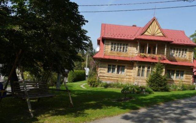 Отель Willa Pod Jesionem Поронин вид на фасад