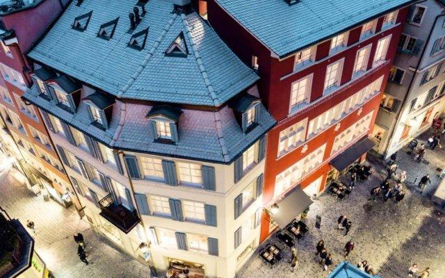 Отель MARKTGASSE Цюрих вид на фасад